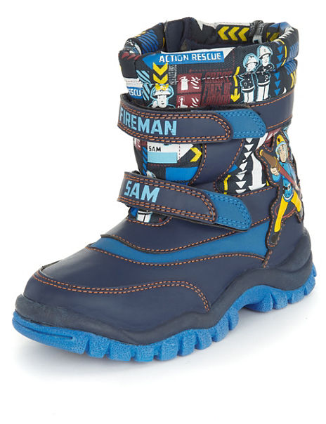 9a3ce5d86 Product images. Skip Carousel. Fireman Sam trade  Snow Boot