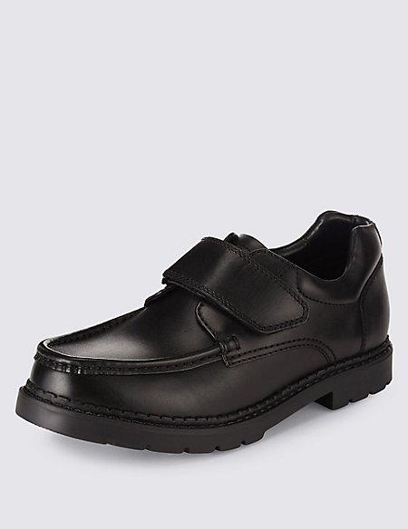 Kids' Leather Freshfeet™ School Shoes