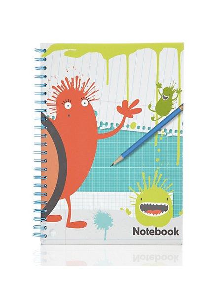 A4 Spiral-bound Notebook