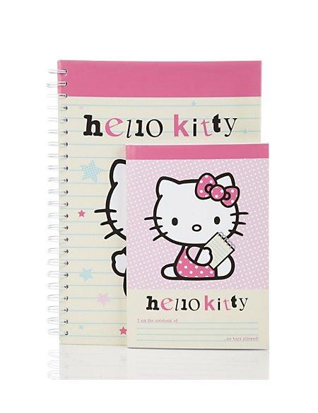 Hello Kitty Set of 2 Notebooks