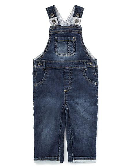 Cotton Rich Denim Dungarees