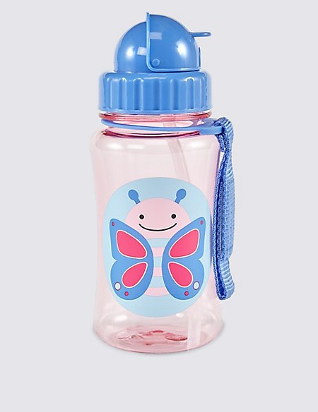 Straw Butterfly Bottle