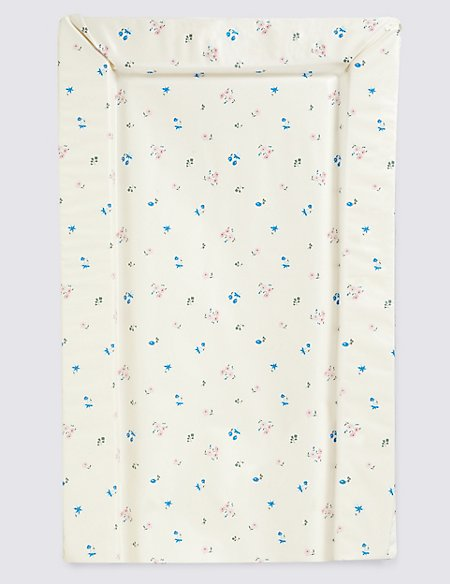 Floral Changing Mat