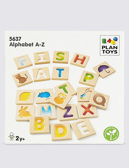 Wooden A-Z Puzzle