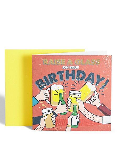 Cheers Birthday Card