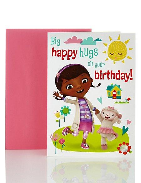 Doc Mcstuffins Happy Birthday Card Ms