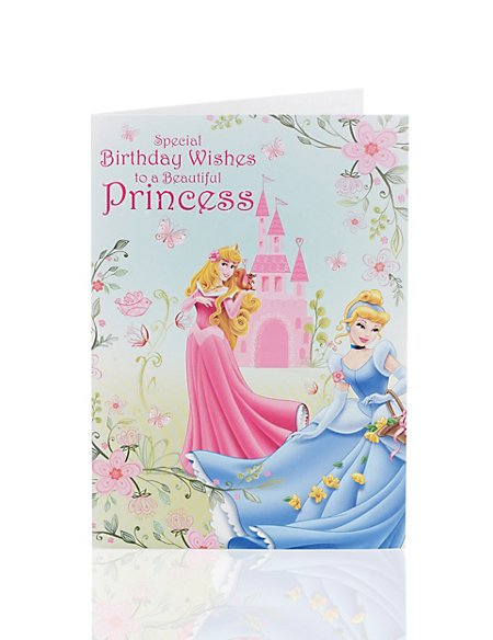Disney Princess Birthday Card Ms