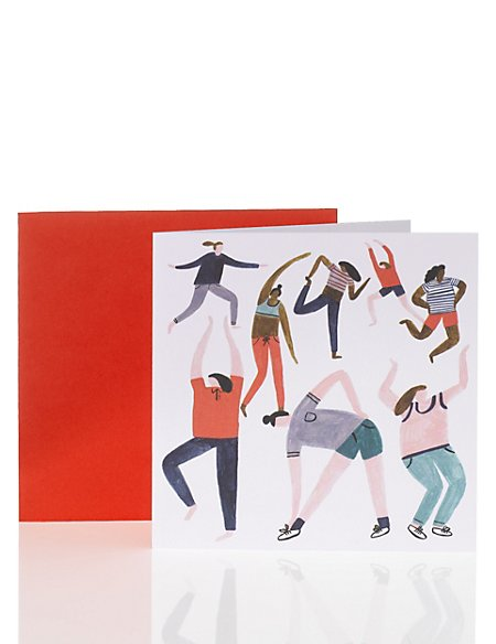 Illustrated Blank Card