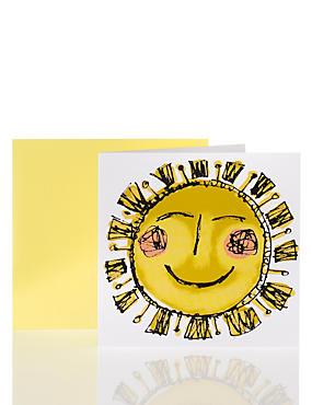 Illustrated Sunshine Card