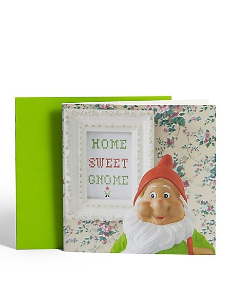 Home Sweet Gnome Card