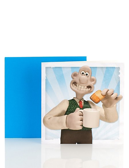Wallace and Gromit Blank Card