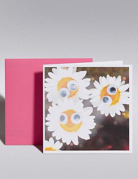 Daisies Blank Card