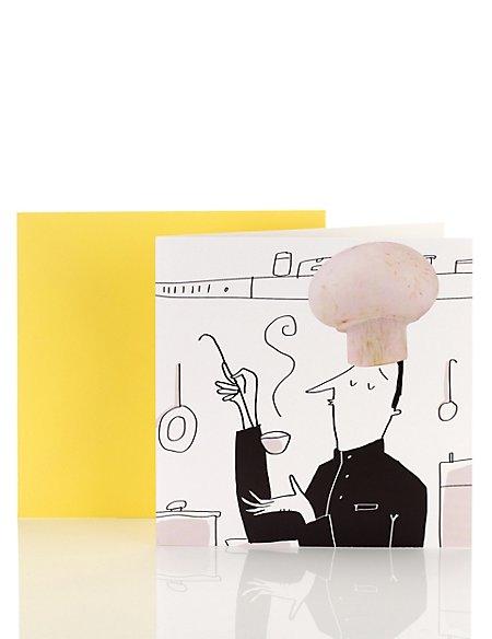 Fun Chef Blank Card
