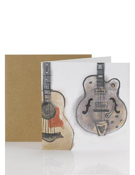 Blank Guitars Card