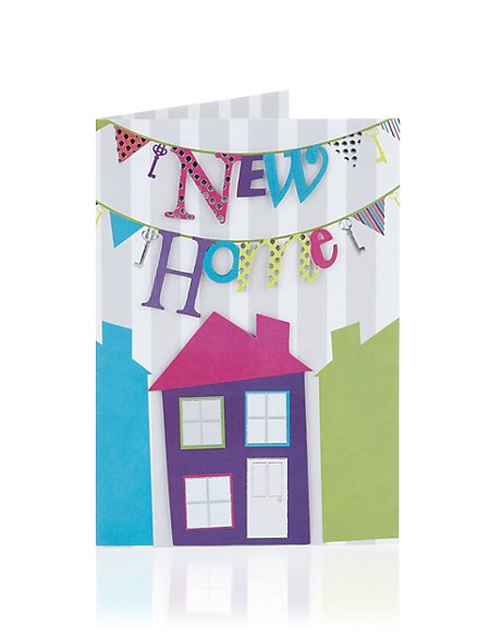 Bright New Home Greetings Card