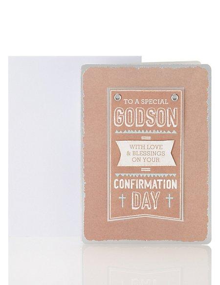 Godson on Craft Confirmation Card