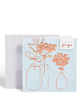 Birthday cards happy birthday greeting cards ms bronze vase card m4hsunfo
