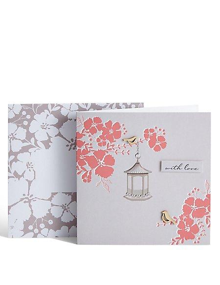Floral Lantern Card