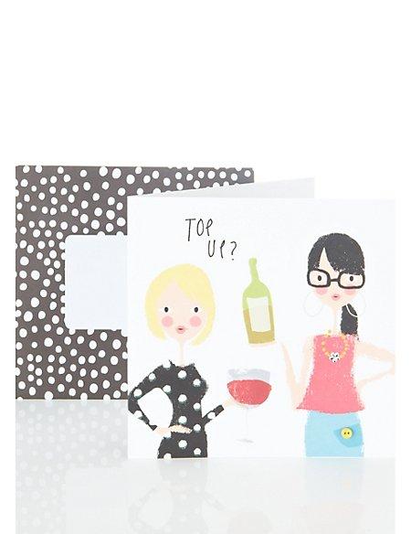 Top Up Birthday Card