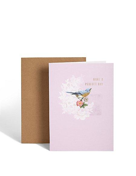 Traditional Bird Birthday Card