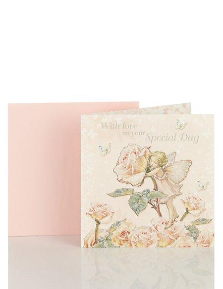 Floral Fairy Birthday Card