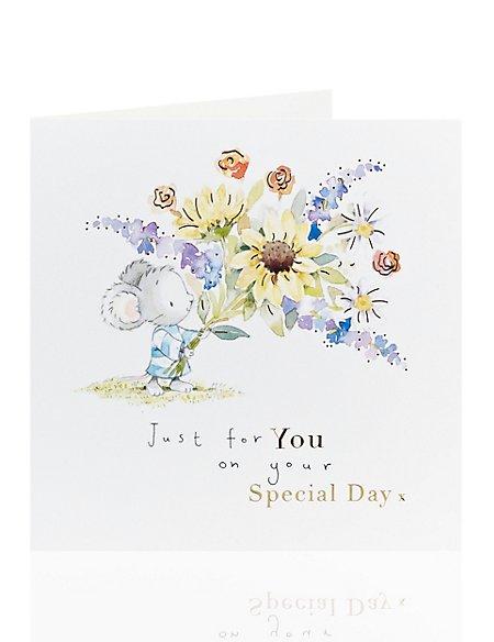 Cute Mouse Birthday Card