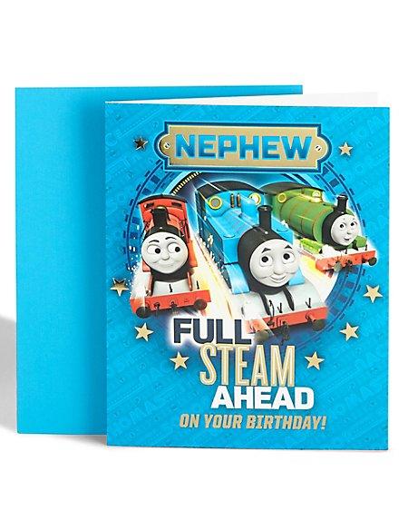 Thomas & Friends™ Nephew Birthday Card