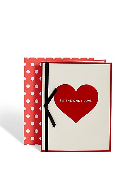 One I Love Card