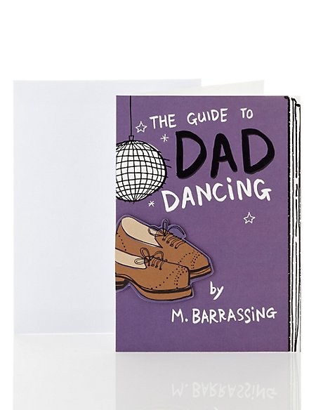 Funny Guide To Dad Dancing Birthday Card Ms