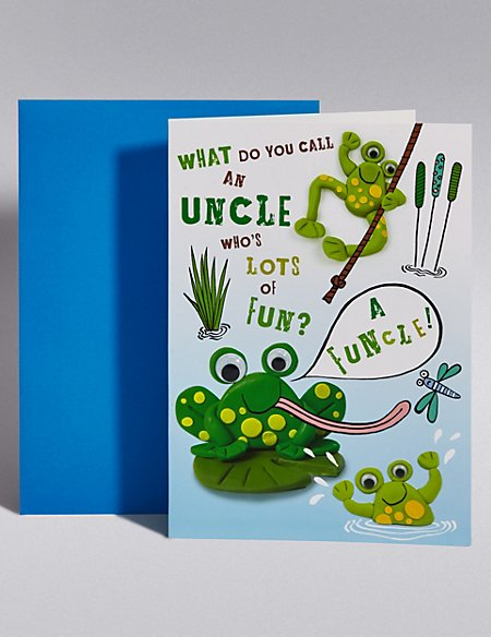 Uncle Funcle Birthday Card