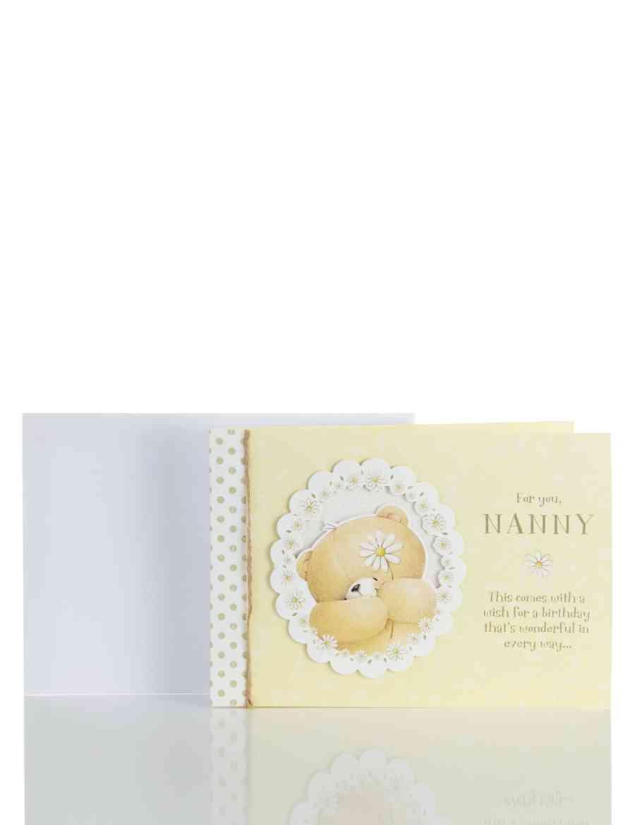 Nanny Forever FriendsTM Birthday Card
