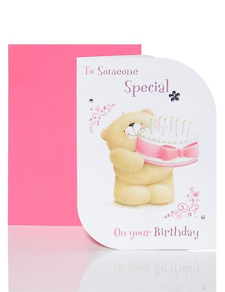 Forever Friends Someone Special Birthday Card Ms