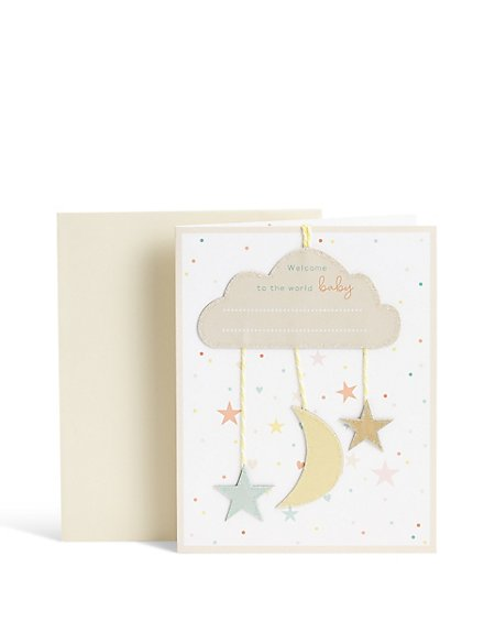 Personal Welcome Baby Card