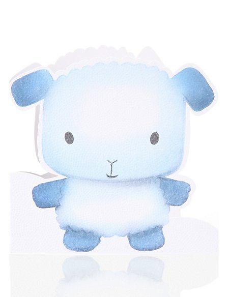 Cute Lamb New Baby Greetings Card
