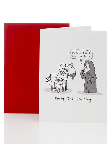 Star Wars™ Jedi Training Blank Card