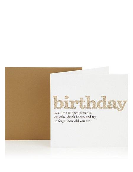 Birthday definition birthday greetings card ms birthday definition birthday greetings card m4hsunfo