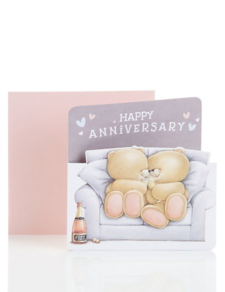 Forever Friends™ Anniversary Card