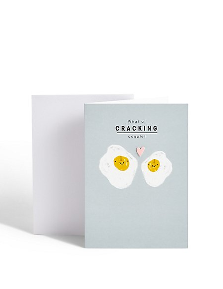 Cracking Couple Anniversary Card