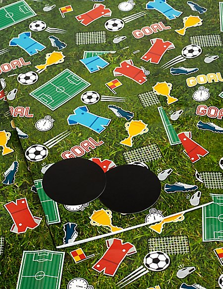 Football Icons Sheet Wrapping Paper