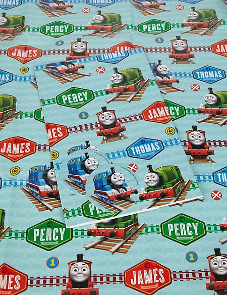 2 Thomas the Tank Engine Wrapping Paper