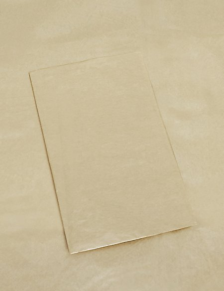 3 Sheets Gold Tissue Paper