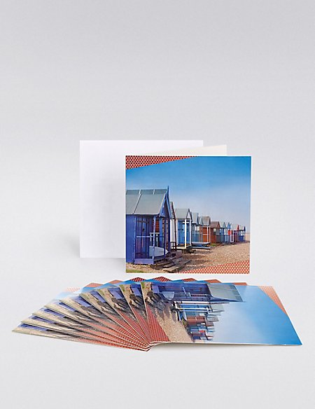 Beach Huts Multipack Cards