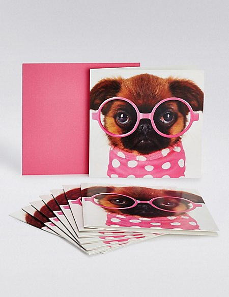 Pink Dog Multipack Cards