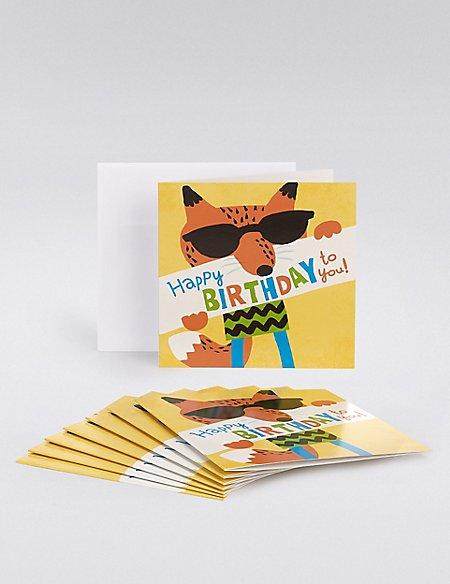 Birthday Boy Multipack Cards