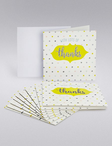 Pastel Spot Thank You Cards