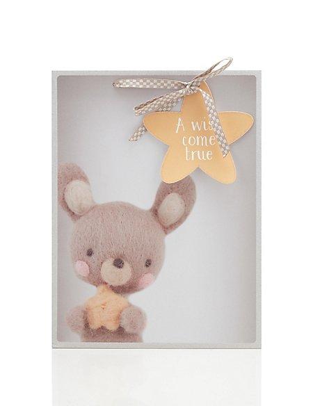 Lucky Teddy Large Gift Bag