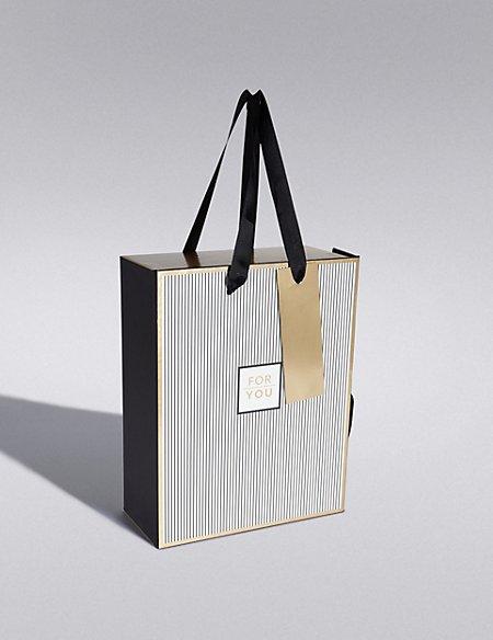 Black & Gold Medium Gift Box