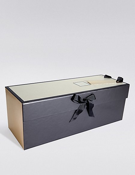 Black & Gold Bottle Gift Box