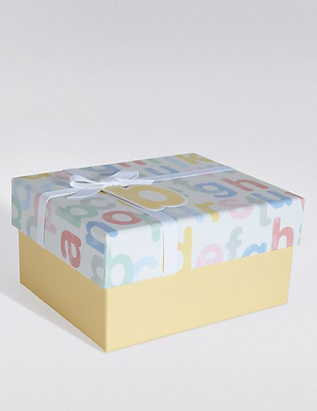 Baby Alphabet Small Gift Box