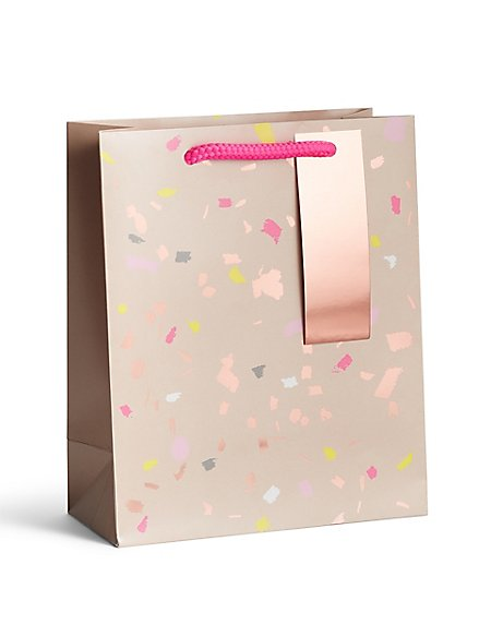 Copper & Confetti Medium Gift Bag